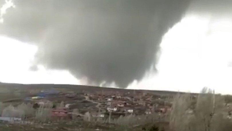 YIKTI GEÇTİ! Son dakika: Yozgat'ta hortum kâbusu - Haberler