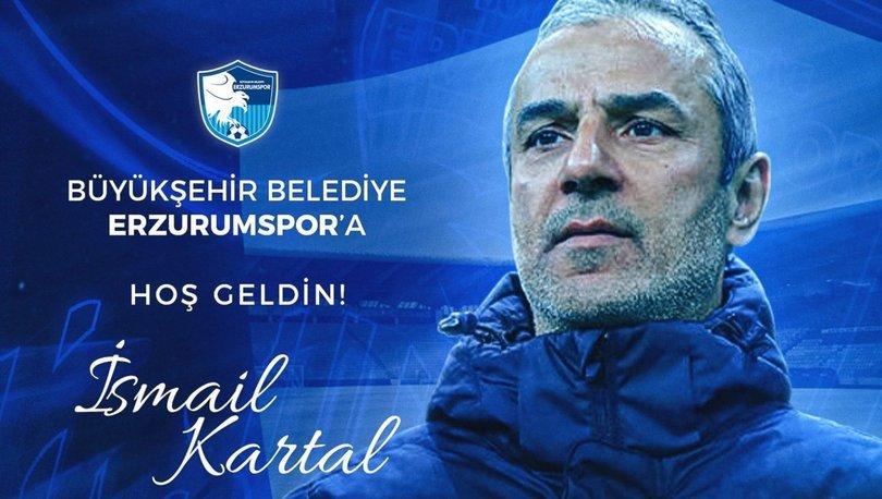 BB Erzurumspor'da İsmail Kartal dönemi