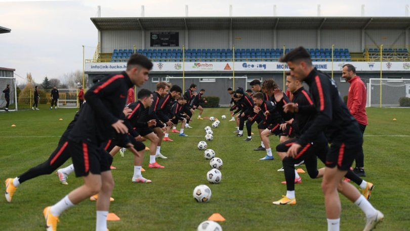Ümit Milli Futbol Takımı, Hırvatistan'da çalıştı