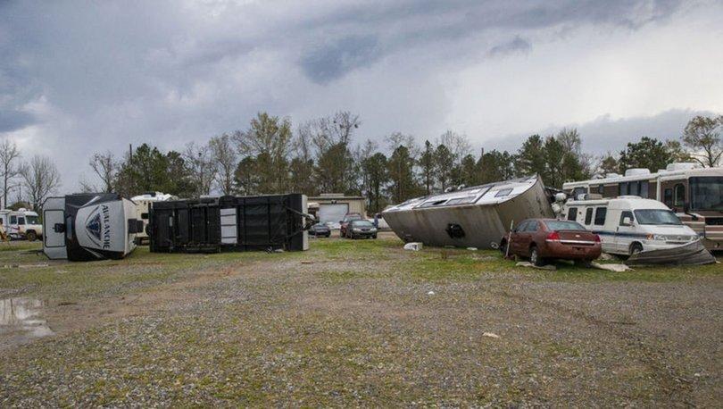 ABD'nin Alabama eyaletini hortum vurdu: En az 5 ölü