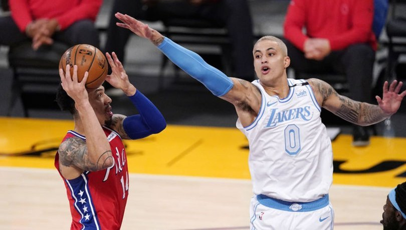 NBA'de Lakers'ı mağlup eden 76ers, 4'te 4 yaptı