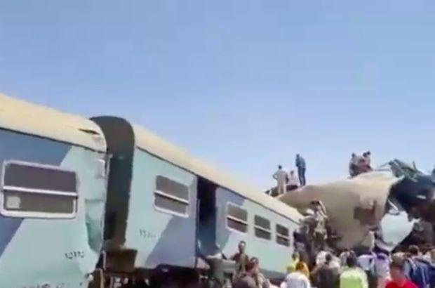Mısır'da tren faciası: 32 ölü