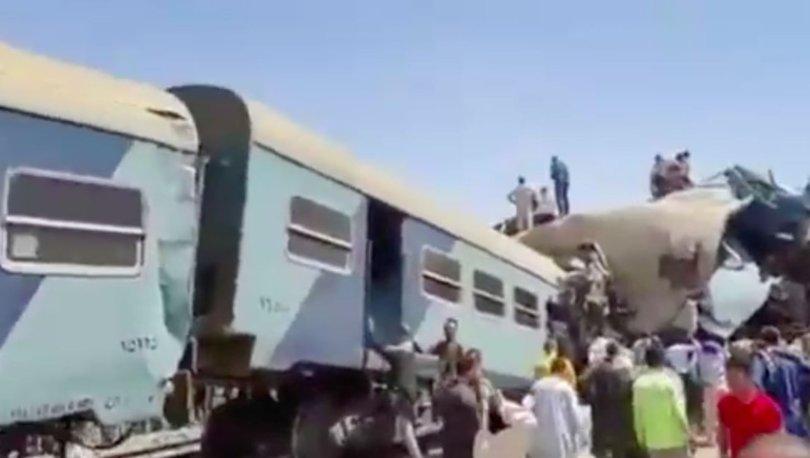 SON DAKİKA: Mısır'da tren faciası: 32 ölü, 62 yaralı - Haberler