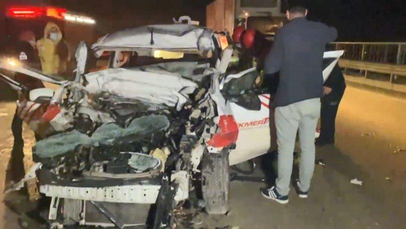 TIR FACİASI | Son dakika: Araç TIR'ın altına girdi! Ölü ve yaralılar var!