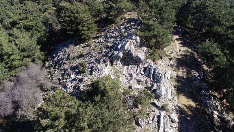 İzmir'de Helenistik ve Roma dönemlerine ait antik taş ocağı bulundu