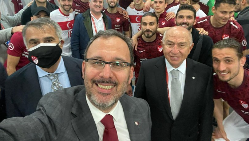 Gençlik ve Spor Bakanı Mehmet Muharrem Kasapoğlu, A Milli Takım'ın Norveç galibiyetini değerlendirdi