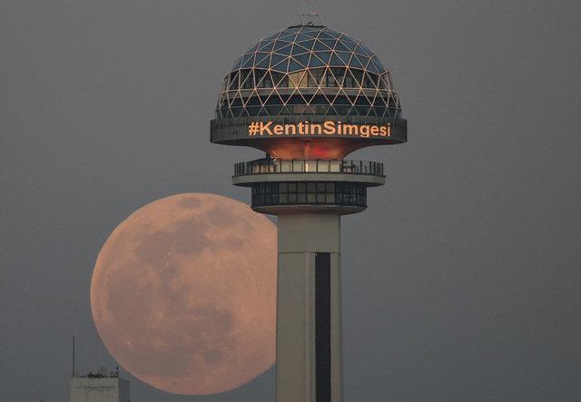 İstanbul ve Ankara'dan Süper Solucan Ay görüntüleri