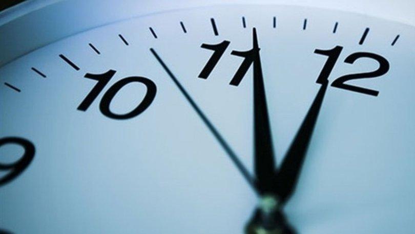 ŞU AN SAAT KAÇ? Saatler ileri alındı mı? Yaz saati uygulaması