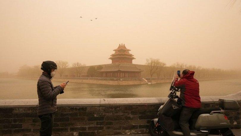 SON DAKİKA: Çin'de kum fırtınaları için sarı alarm verildi!