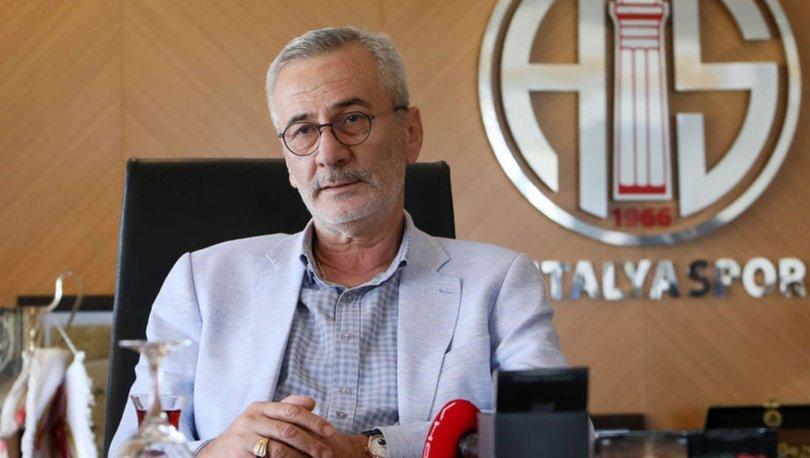 Antalyaspor Başkanı Yılmaz'dan stat açıklaması