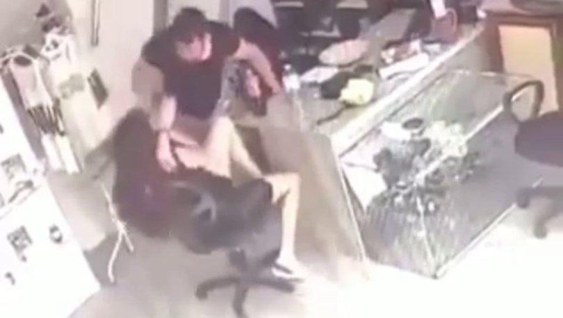 KÂBUS SÜRÜYOR! Son dakika: Kadına şiddet anbean kamerada! - Haberler