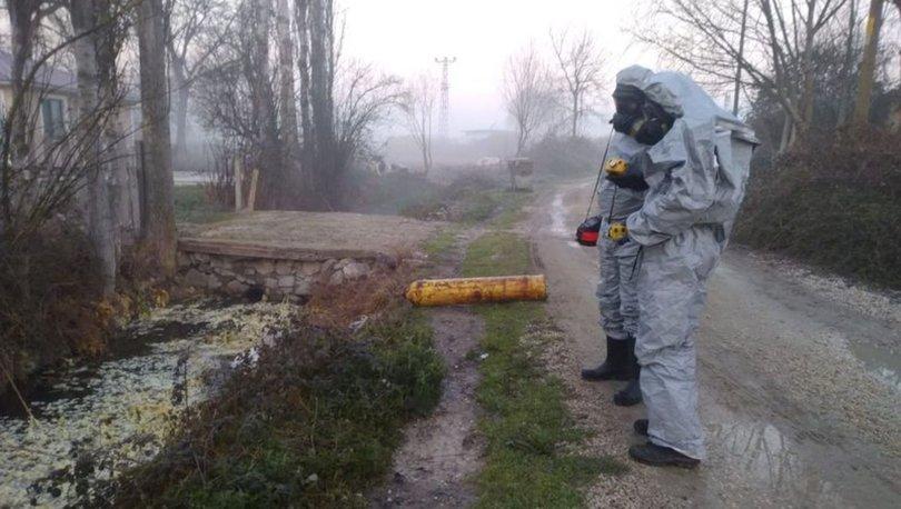 ZEHİR! Son dakika: Sakarya'da kimyasal madde alarmı! 12 kişi etkilendi