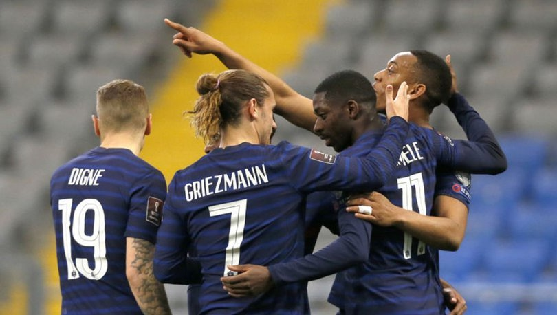 Kazakistan: 0 - Fransa: 2 MAÇ SONUCU