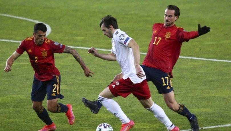 Gürcistan İspanya maç özeti: 2022 FIFA Dünya Kupası Avrupa Elemeleri'nde İspanya kazandı
