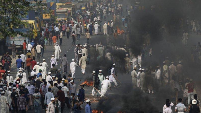 Bangladeş'te, Hindistan Başbakanı Modi karşıtları polisle çatıştı: 4 ölü