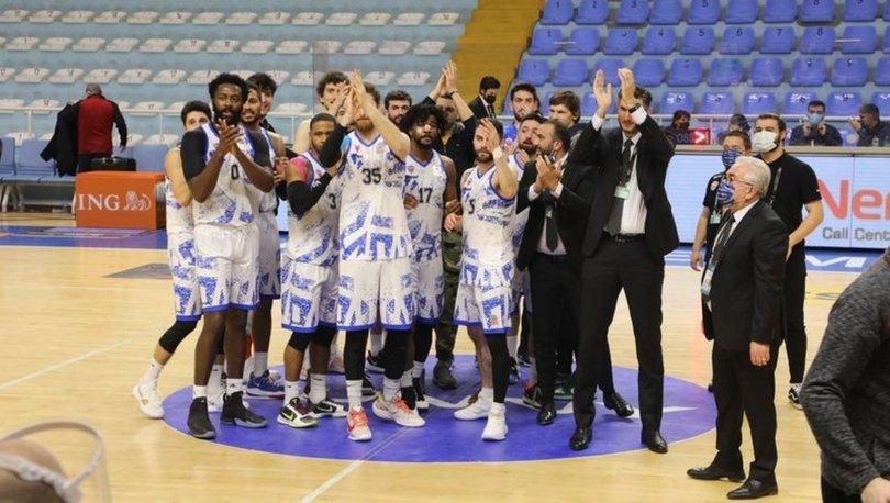 Büyükçekmece Basketbol: 105 - Galatasaray: 101 MAÇ SONUCU