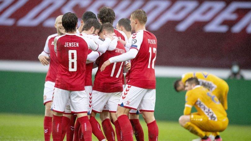 Danimarka: 8 - Moldova: 0 MAÇ SONUCU