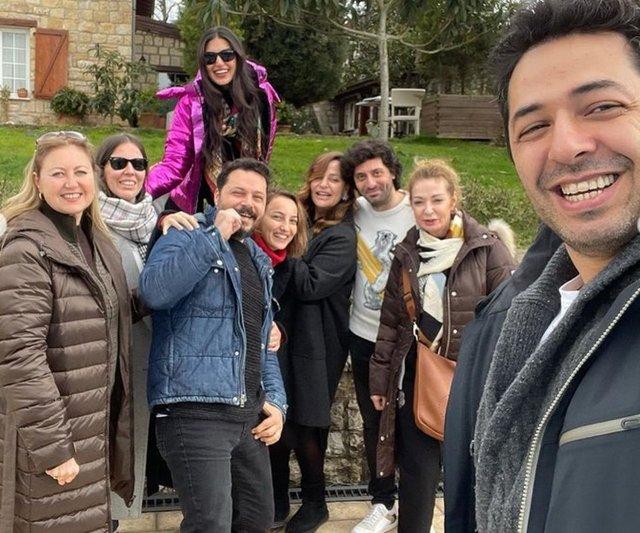 Mert Fırat'tan eşi İdil Fırat'a: Çok şükür birbirimizi bulduk - Magazin haberleri
