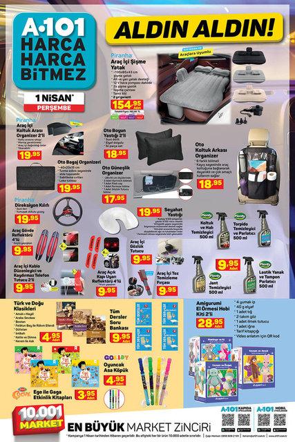 A101 BİM aktüel ürünler kataloğu! A101 30 Mart - 1 Nisan aktüel ürünleri! İşte tüm liste
