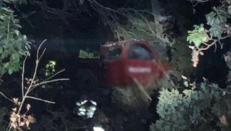 Kontrolden çıkan kamyonet uçuruma devrildi: 1 ölü, 4 yaralı