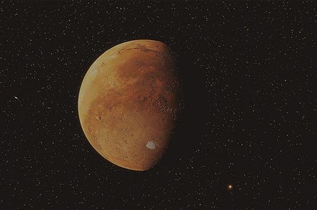 İşte Mars'ın buz kaplı tepeleri