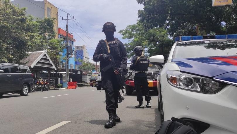 Endonezya'da kiliseye saldırı düzenlendi, en az 14 kişi yaralandı