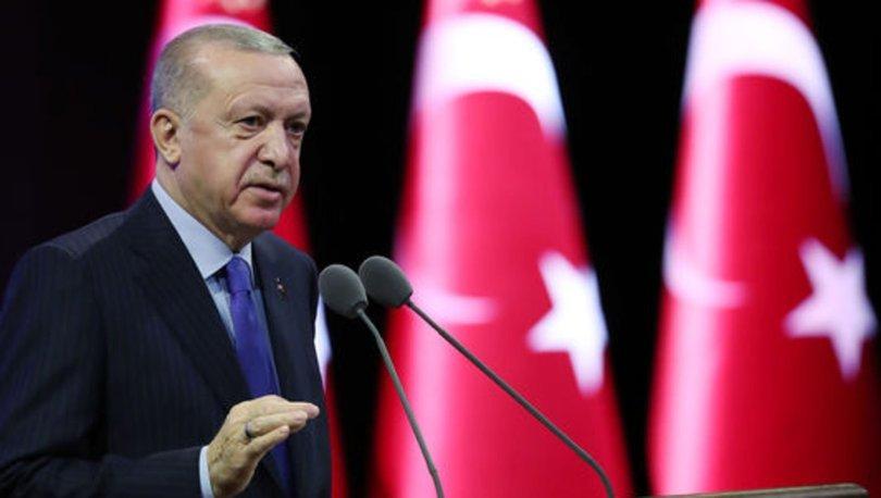 Son dakika: Cumhurbaşkanı Erdoğan: Su kanunu hazırlıyoruz - Haber