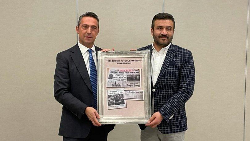 Ali Koç'tan 1959 öncesi Türkiye şampiyonluğu bulunan Ankara bölgesi kulüplerine ziyaret