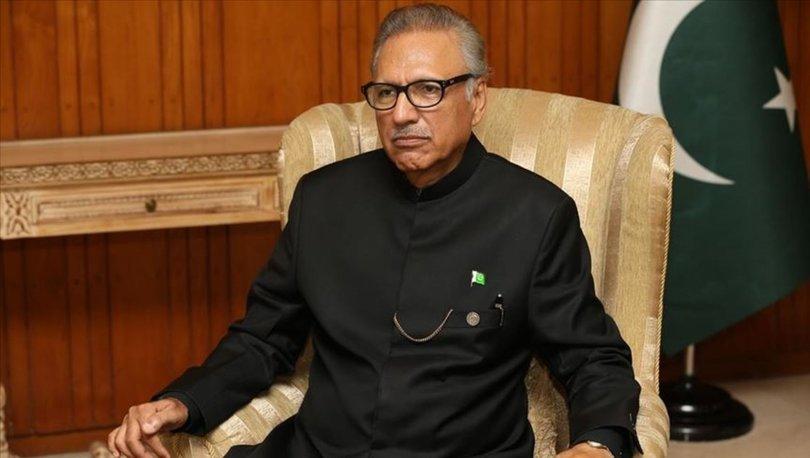 Pakistan Cumhurbaşkanı Alvi'nin Kovid-19 testi pozitif çıktı