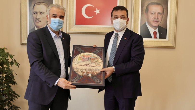 SON DAKİKA İmamoğlu'ndan AK Partili Kabaktepe'ye ziyaret etti: Herkesle diyalog... - Haberler