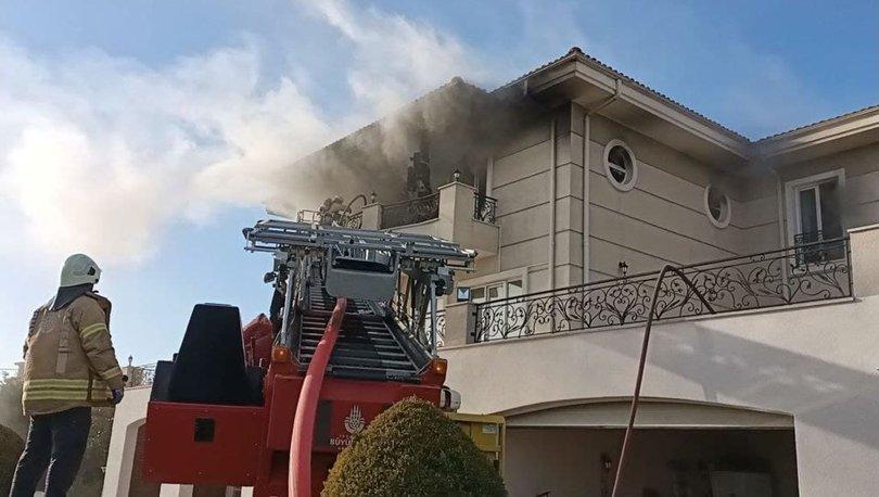 Son dakika: Büyükçekmece'de villa yangını: 2 yaralı - Haberler