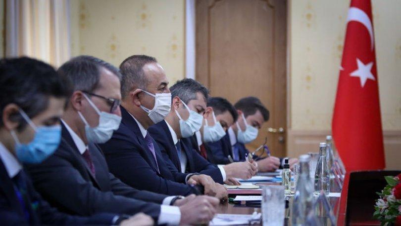 Dışişleri Bakanı Çavuşoğlu, Hindistan, Afganistan ve Azerbaycan dışişleri bakanlarıyla görüştü