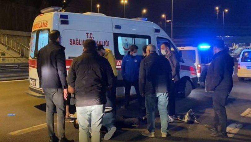 İstanbul'da E5 Karayolu üzerinde şüpheli ölüm
