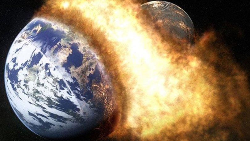 Uzayın gizem perdesini aralayacak yeni teori: Theia'nın parçaları Dünya'da!