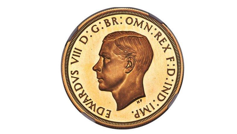 İngiltere Kralı 8'inci Edward adına basılan paraya rekor fiyat!