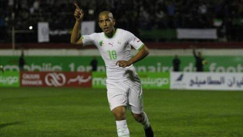 Feghouli attı, Cezayir farklı kazandı
