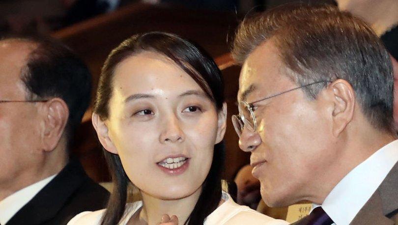 SON DAKİKA: Kuzey Kore liderinin kız kardeşinden Kim'den tepki çeken benzetme: ABD'nin papağanı!