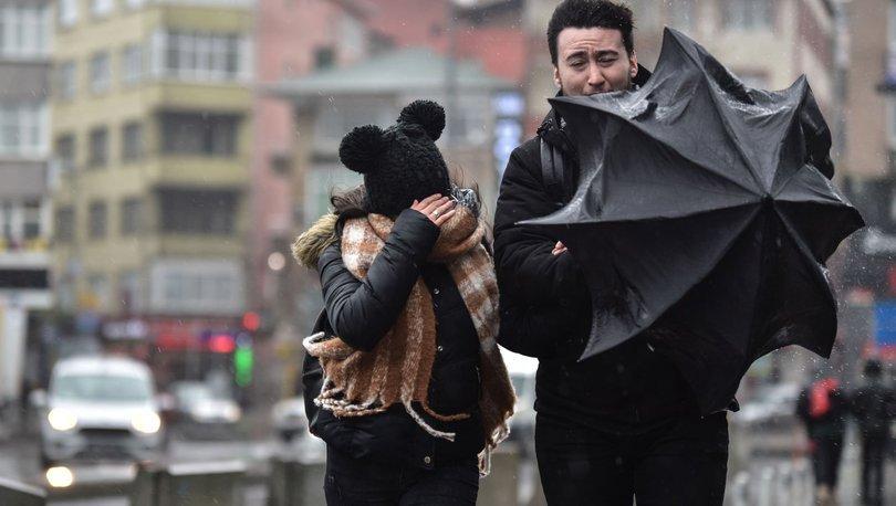 Son dakika: İstanbul için kuvvetli fırtına uyarısı! - Haberler