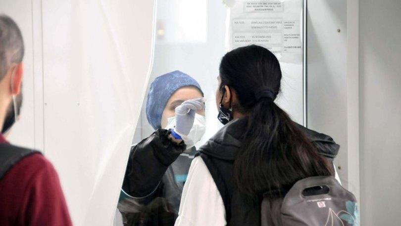 İstanbul havalimanlarında 9 ayda 469 bin 735 yolcuya koronavirüs testi yapıldı