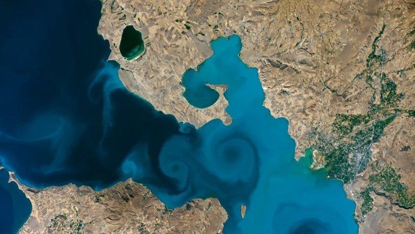 Uzaydan çekilen Van Gölü fotoğrafı yarı finalde! - Haberler