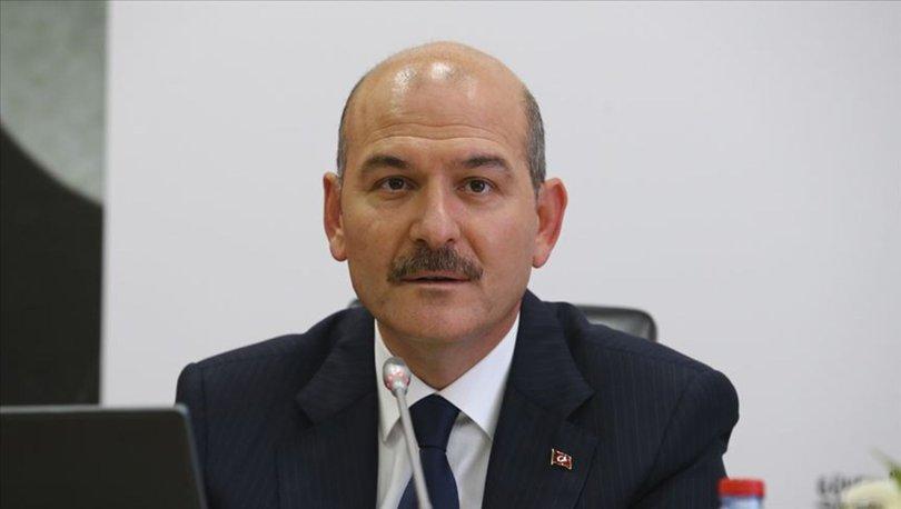 Bakan Süleyman Soylu'dan son dakika açıklaması: