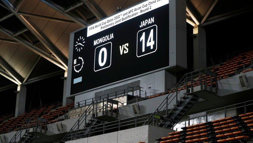14 - 0  Son dakika: Japonya Moğolistan'ı ezdi geçti - 2022 FIFA Dünya Kupası Asya Elemeleri