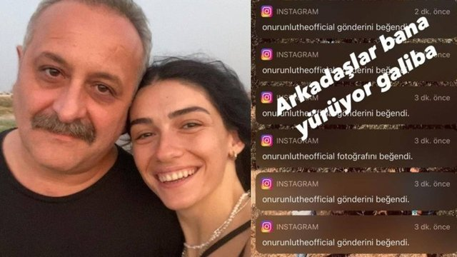 Hazar Ergüçlü'den 'Onur Ünlü' paylaşımı: Bana yürüyor - Magazin haberleri