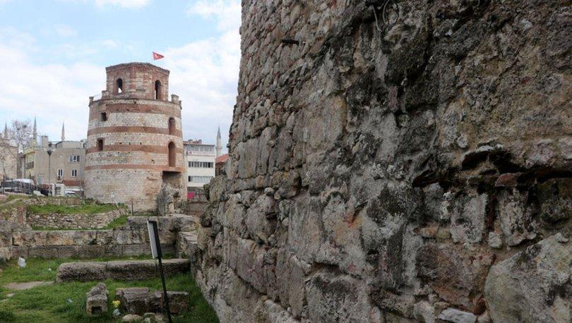 Hadrianapolis Antik Kenti sur duvarlarının ortaya çıktığı alan tescillendi