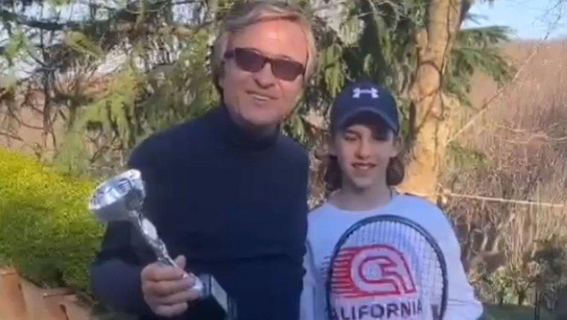 Erol Evgin: Torunum ikincilik kupası kazandı - Magazin haberleri