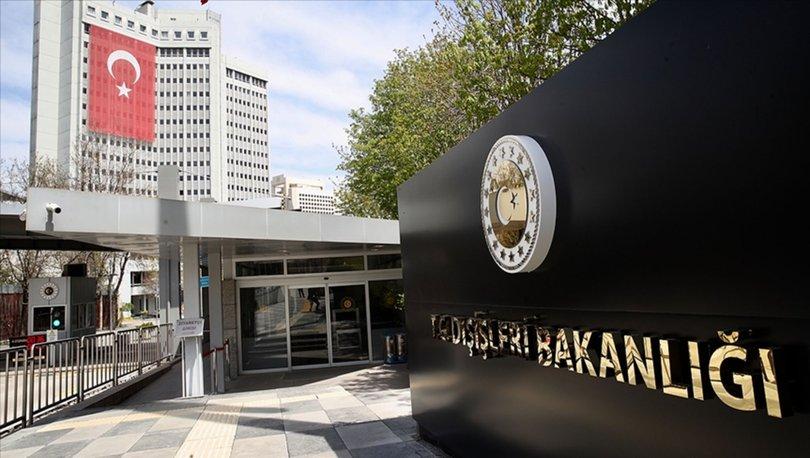 SON DAKİKA! Dışişleri ABD Dışişleri Bakanlığı'nın 2020 Türkiye İnsan Hakları Raporu'na tepki gösterdi - Haberl