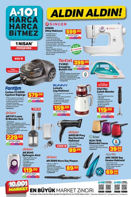 A101 BİM aktüel ürünler kataloğu! A101 1 Nisan aktüel ürünleri! İşte tüm liste burada