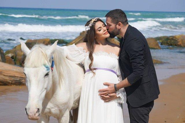 Gaye Turgut Evin-Deniz Evin çiftinin bebeklerinin ismi belli oldu - Magazin haberleri