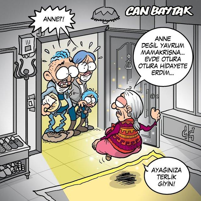 Can Baytak karikatürleri (Nisan 2021)