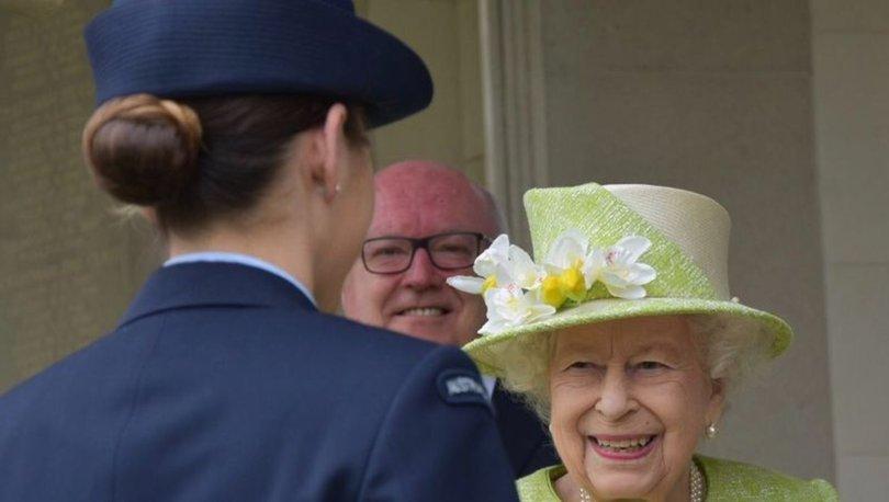 Kraliçe Elizabeth, Harry ve Meghan'ın ırkçılık suçlaması sonrası ilk kez görüldü